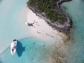Drone shot, Bahamas