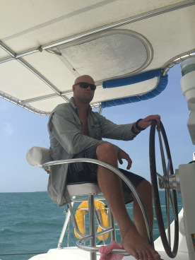Being a Captain (Belize holiday)