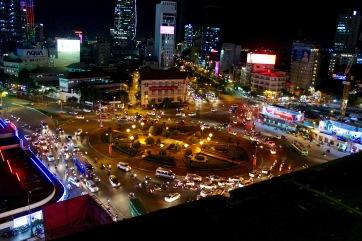 Ho Chi Minh Roof top bar