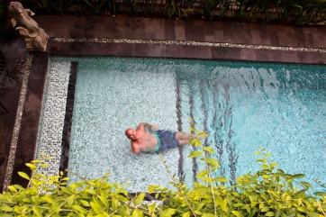 Pool fun in Bali