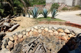 Agave roasting how tequila is made