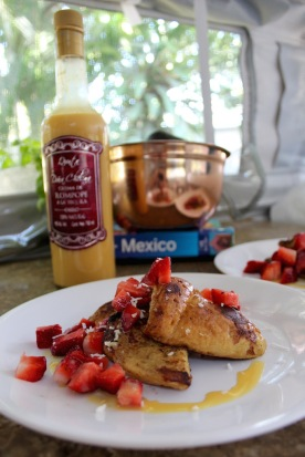 French toast with my new tequila! Thanks Kmann
