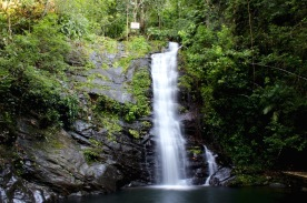Pleasant Day waterfall