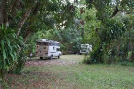 Clarissa Falls camp spot