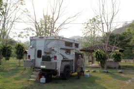 Honduras camp spot