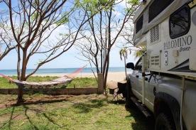 Camper at the Aussie Hut