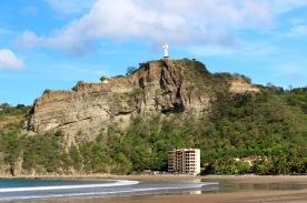 San Juan del Sur, second largest Jesus statue after Brazil...so we were told idk
