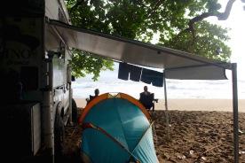 Kevos' beach cabana